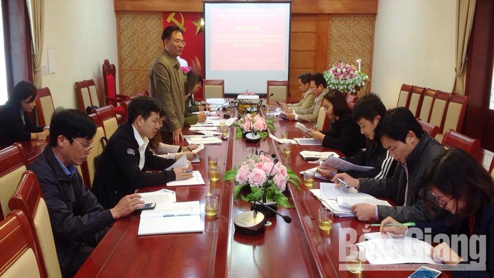 Huyện Lạng Giang; Ban Tuyên giáo Huyện ủy Lạng Giang, Đào tạo bồi dưỡng cán bộ