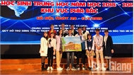 Bắc Giang: Hai dự án đoạt giải khoa học kỹ thuật quốc gia dành cho học sinh trung học