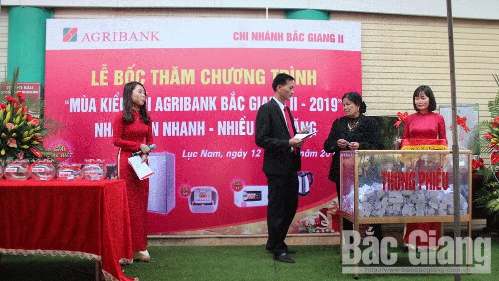 """Ngân hàng nông nghiệp và phát triển nông thôn Bắc Giang, Chương trình """"Mùa kiều hối Agribank Bắc Giang II- 2019"""