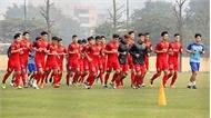 Cận cảnh buổi tập vắt kiệt sức lực của U23 Việt Nam