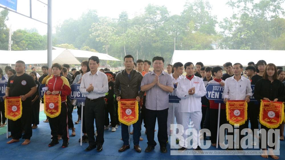 Huyện Yên Thế, giải võ thuật toàn tỉnh, Lễ hội Yên Thế