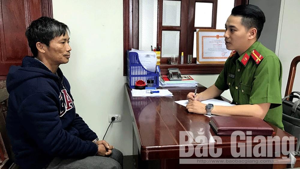 Công an huyện Hiệp Hòa, Công an tỉnh Bắc Giang, Giết người, án mạng nghiêm trọng