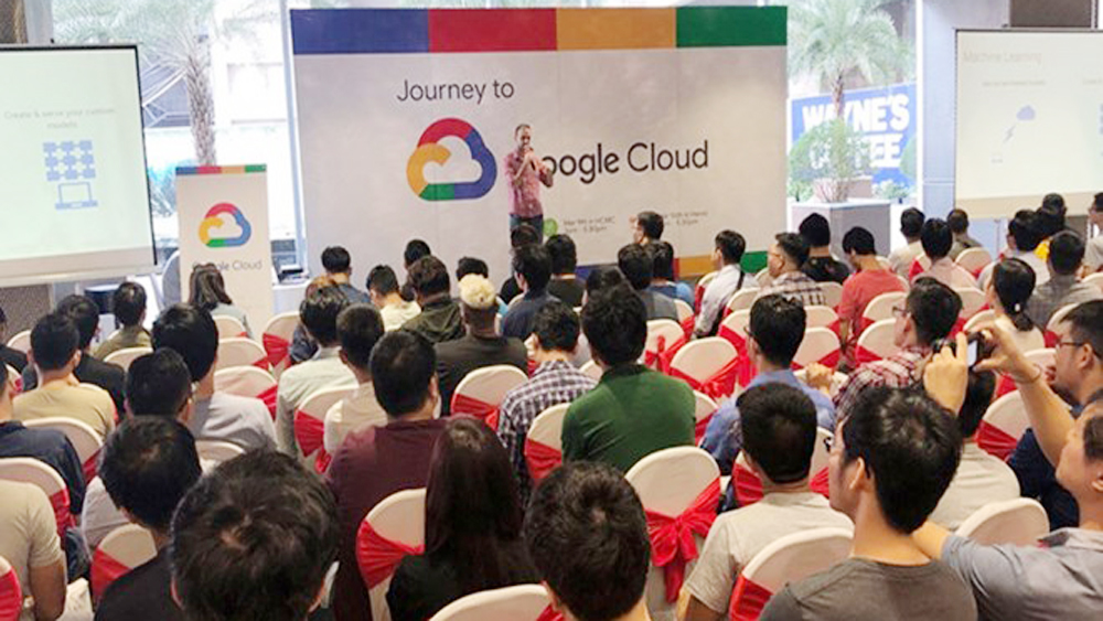 Google, Vietnamese startups, Google Cloud packages, digital technology, global markets, young entrepreneurs