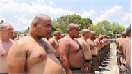 Trại 'tiêu diệt mỡ bụng' cho cảnh sát béo phì Thái Lan