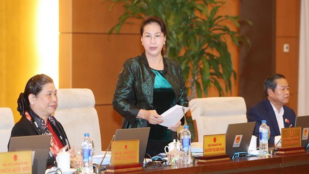 NA Standing Committee, wraps up, 32nd session,  National Assembly, NA Chairwoman Nguyen Thi Kim Ngan, Law on Tax Management
