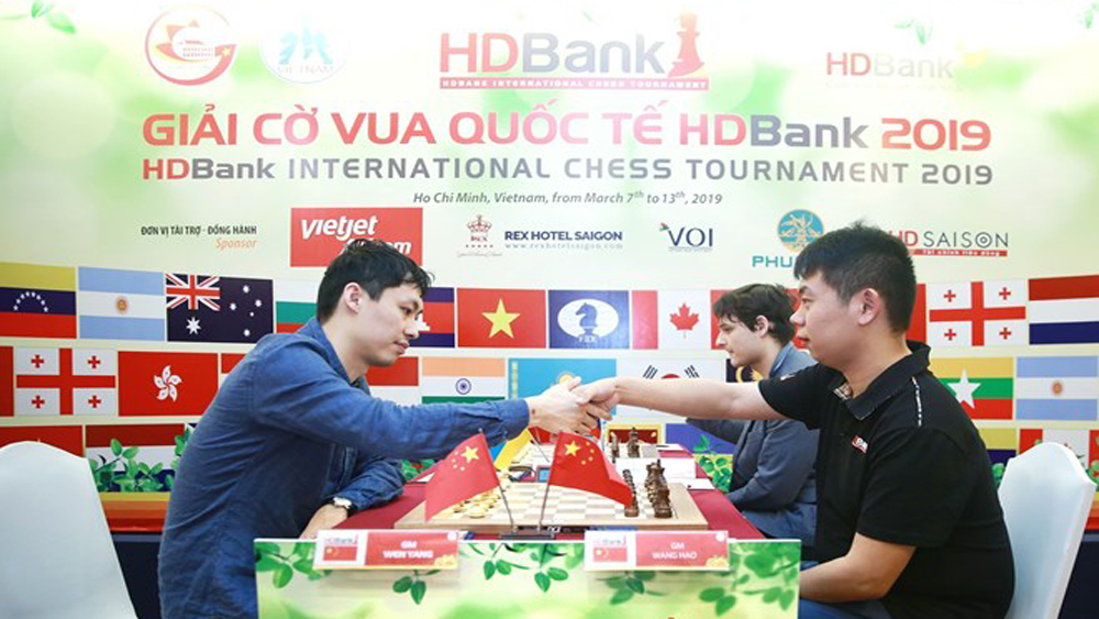 Chinese grandmaster wins HDBank int'l chess tourney