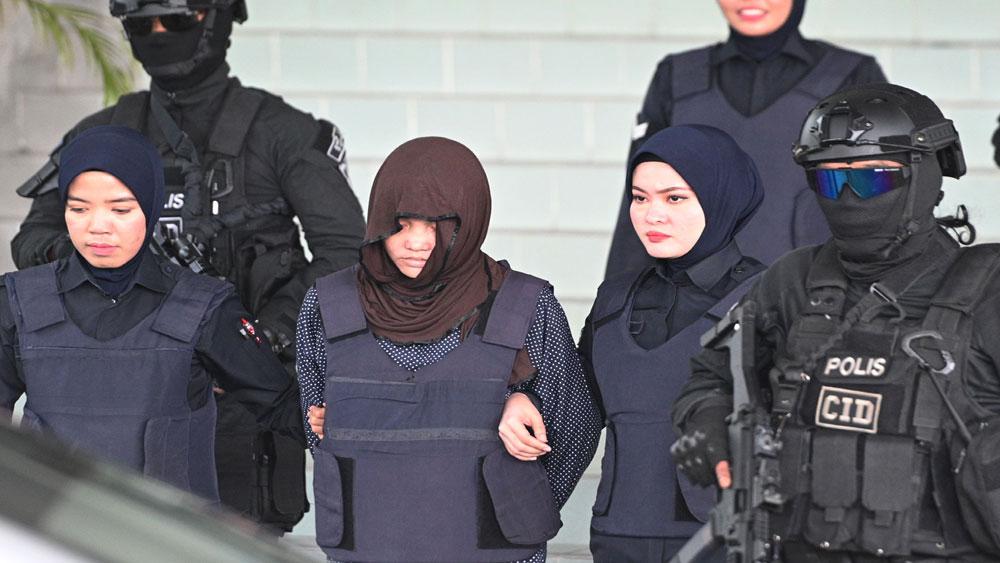Malaysia, phiên xét xử nghi can Đoàn Thị Hương, vụ sát hại công dân Triều Tiên