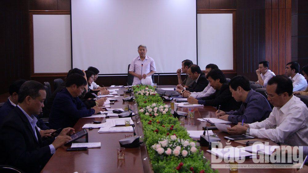 Đồng chí Từ Minh Hải phát biểu tại buổi giám sát.