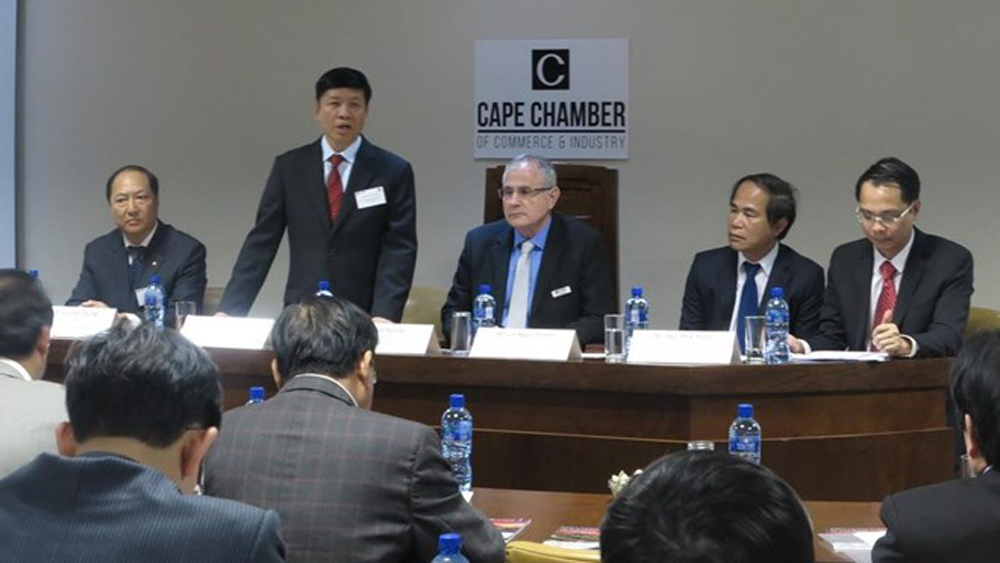 Vietnam – South Africa business dialogue held in South Africa
