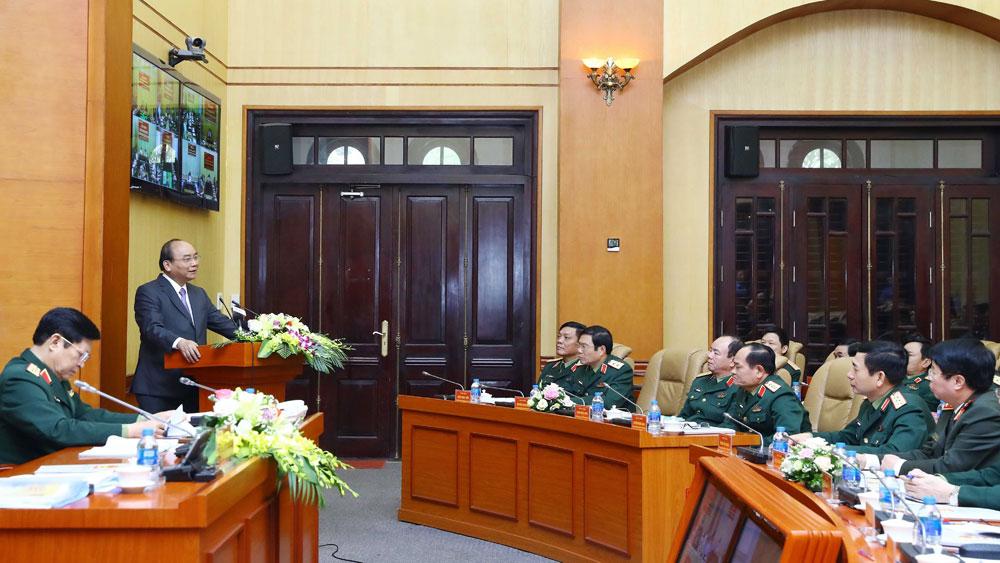 Thủ tướng Nguyễn Xuân Phúc: Xử lý nghiêm sai phạm trong quản lý, sử dụng đất quốc phòng