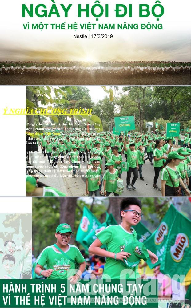 Bắc Giang, giải việt dã, cúp Báo Bắc Giang, ngày hội đi bộ