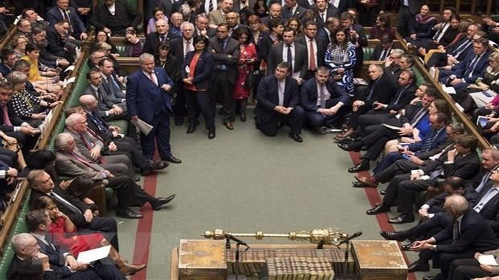 Các nghị sĩ Anh, bỏ phiếu ủng hộ, đề nghị, EU trì hoãn Brexit