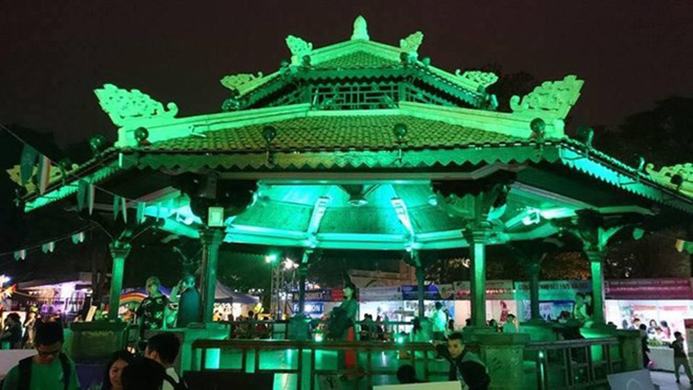 Hanoi, Global Greening campaign, Hoan Kiem Lake, environmental protection, cultural activities, art performances