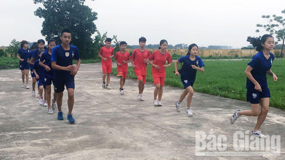 Hướng tới giải việt dã truyền thống tranh cúp Báo Bắc Giang lần thứ 38: Hào hứng luyện tập trước cuộc đua