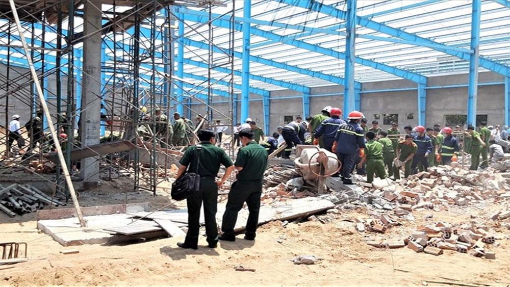 Sập công trình xây dựng, 5 công nhân tử vong, vụ sập nhà xưởng ở huyện Long Hồ, Vĩnh Long, Khu công nghiệp Hoà Phú,