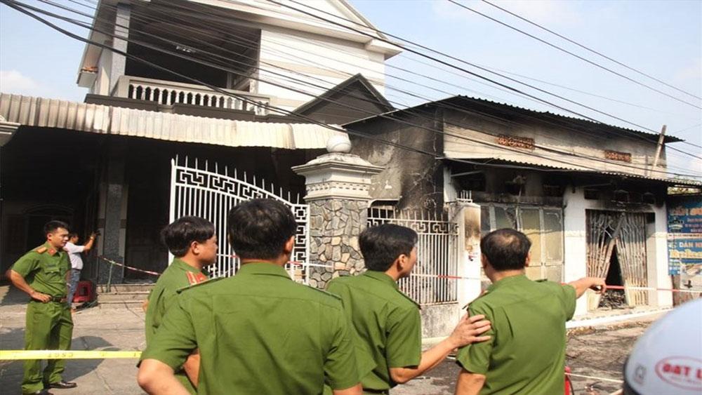 Cháy tiệm sửa đồ điện tử, 3 người tử vong, Công an huyện Xuyên Mộc, ông Huỳnh Tấn Dương