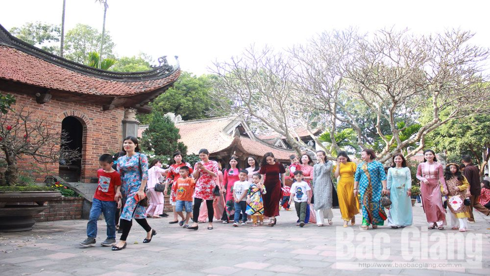 Vinh Nghiem pagoda festival, Bac Giang province, cultural heritage, national intangible cultural heritage, festive season, ancient pagoda, ideal destination
