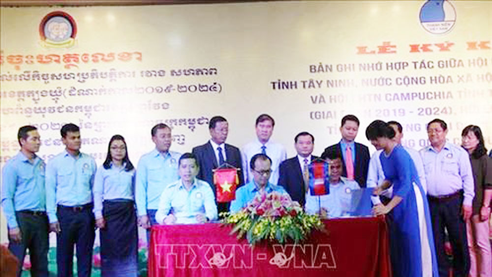Vietnamese, Cambodian provinces enhance youth's cooperation