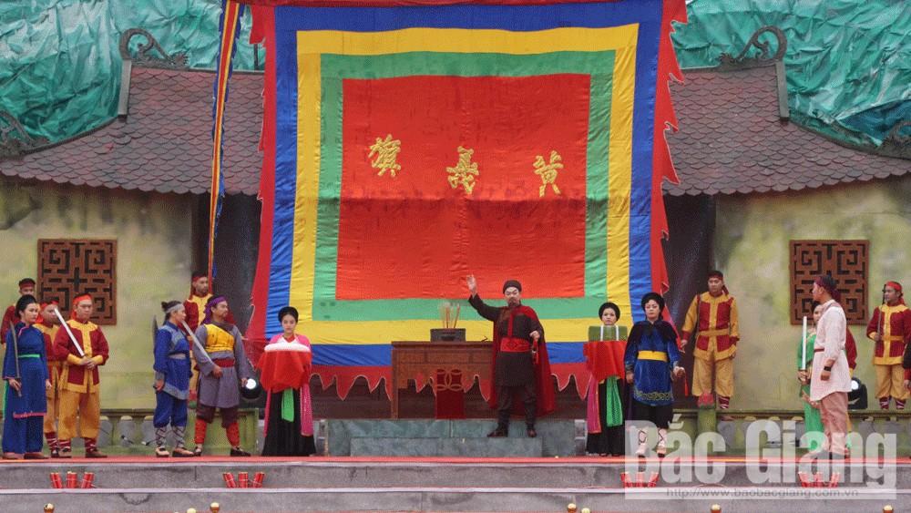 Lễ Kỷ niệm,  Cuộc khởi nghĩa Yên Thế, đón nhận, Huân chương, Lao động, Bắc Giang