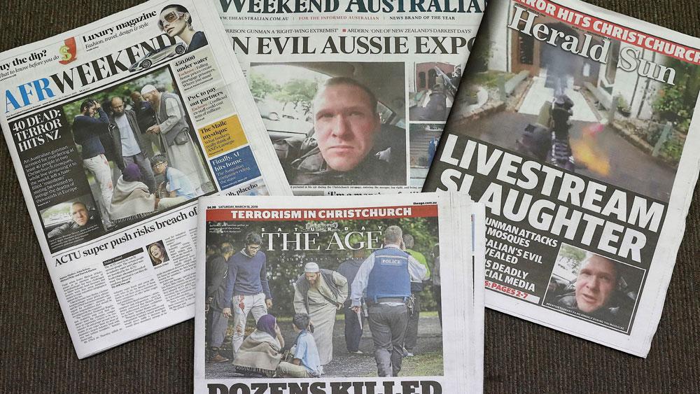 Vụ xả súng tại New Zealand, nghi phạm xả súng,ra tòa, cáo buộc giết người, Brenton Harrison Tarrant