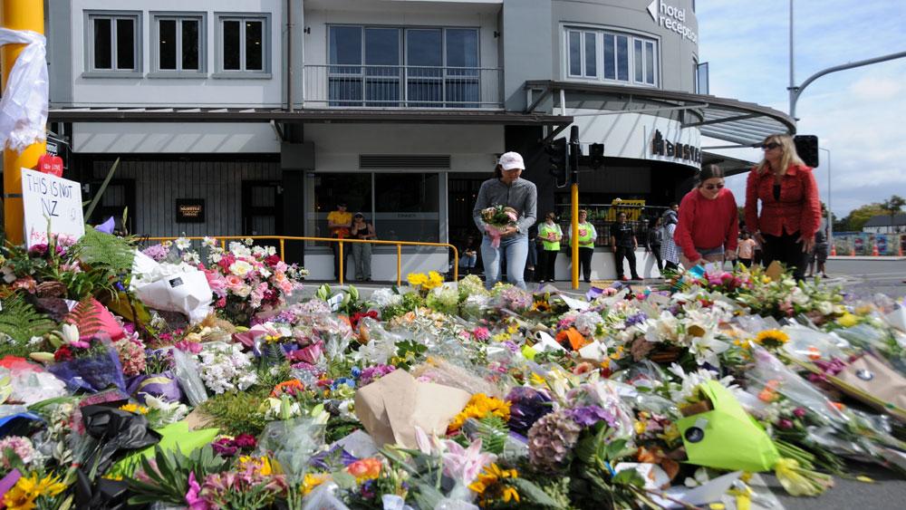 Xả súng tại New Zealand, nghi phạm, gửi thư, Văn phòng Thủ tướng