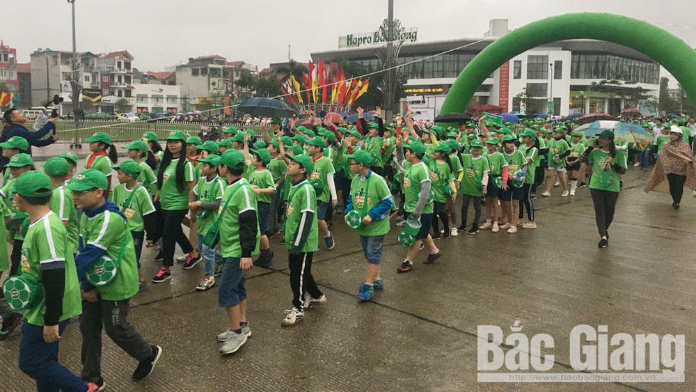 Giải Việt dã truyền thống cúp Báo Bắc Giang lần thứ 38 và Ngày hội đi bộ năm 2019: Mọi ngả đường đều dẫn về Quảng trường 3-2