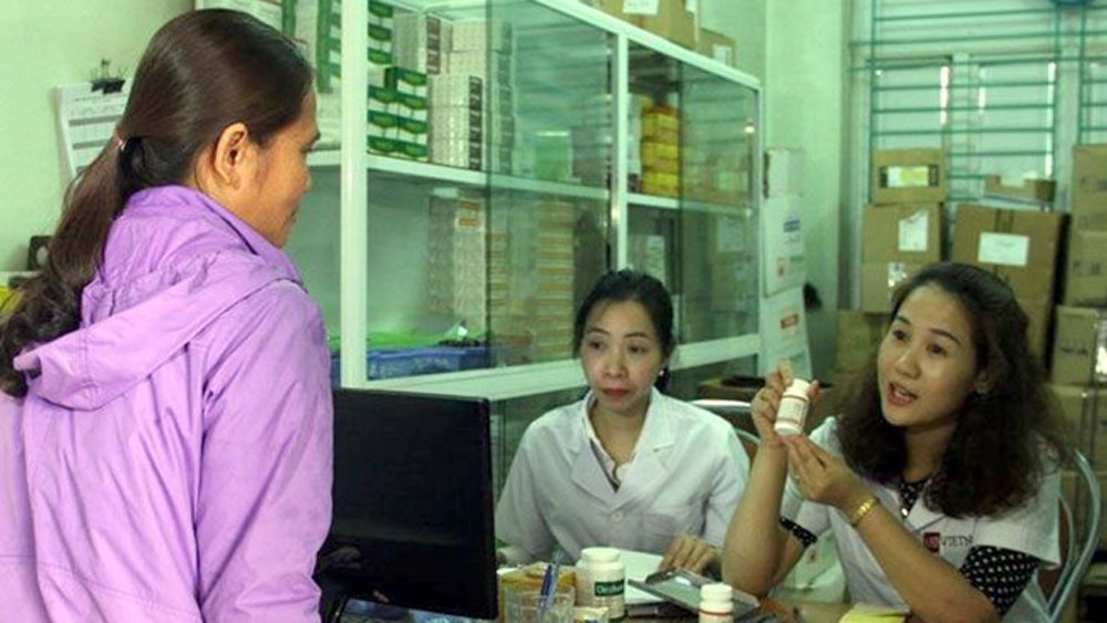 all HIV carriers, Bac Giang province, insurance-covered ARVs, health insurance,  HIV/AIDS treatment, continuous treatment