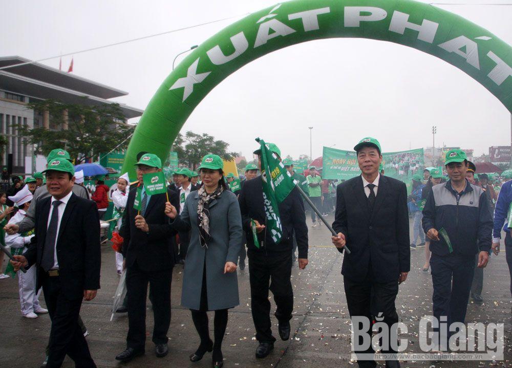 Giải Việt dã, Báo Bắc Giang, hành trình đi bộ