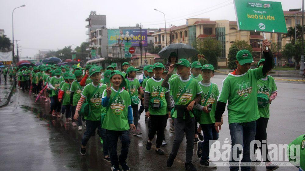 Nhiều hoạt động tại Ngày hội đi bộ