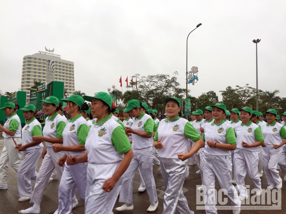 Việt dã, Báo Bắc Giang, sôi nổi, cuộc thi tài