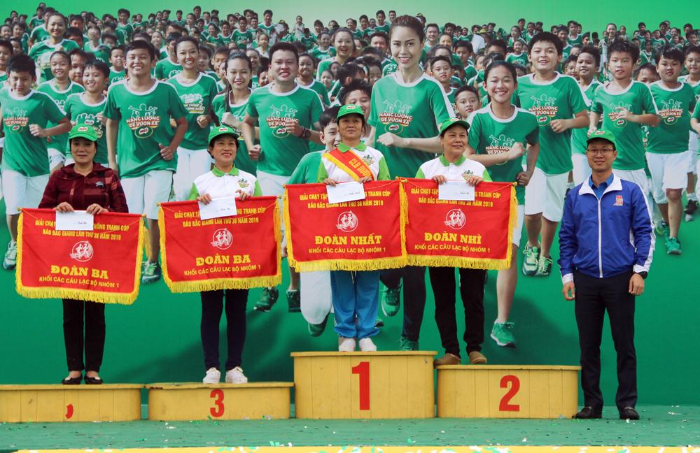 Giải Việt dã, truyền thống, Báo Bắc Giang, Ngày hội đi bộ năm 2019