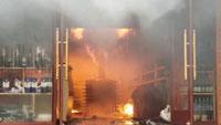 Khách sạn ở Hải Phòng cháy dữ dội giữa trưa