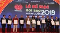 """Bế mạc Hội Báo toàn quốc năm 2019: Báo Bắc Giang được trao Giải """"Giao diện báo điện tử đẹp"""""""
