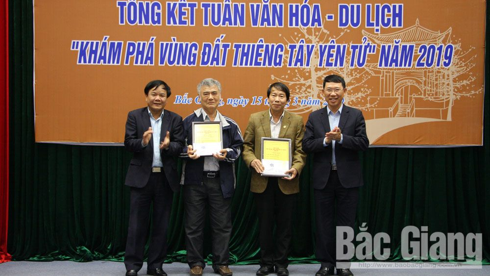 Photo contest, Buddhist Emperor, first prize, 7 days to discover sacred land of Tay Yen Tu, Bac Giang province, Spring Festival, first Culture-Tourism Week, special cultural events
