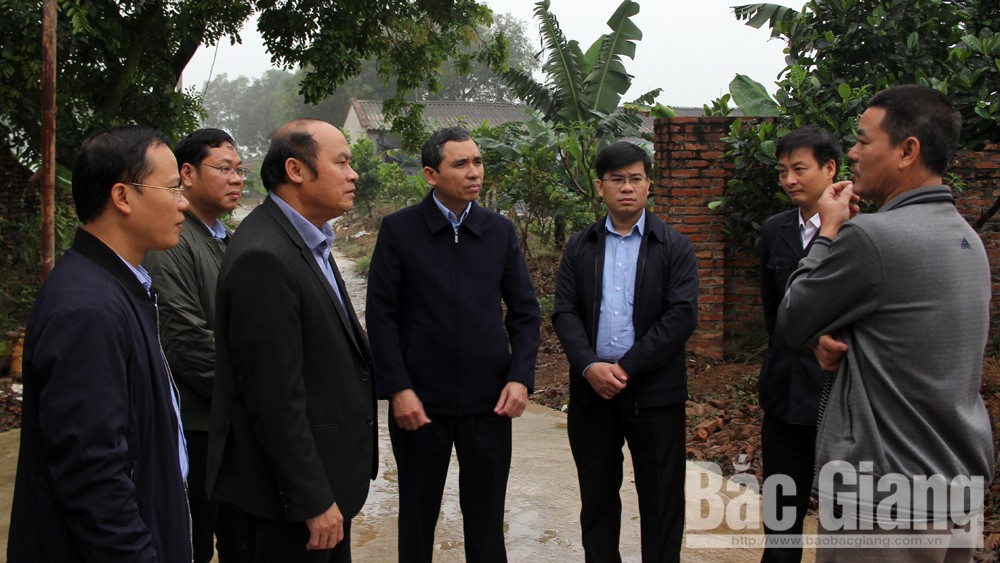 Chủ tịch UBND tỉnh Nguyễn Văn Linh, kiểm tra công tác phòng, chống bệnh dịch tả lợn Châu Phi, TP Bắc Giang, Lạng Giang