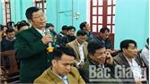 Chủ tịch UBND huyện Lục Ngạn đối thoại với cán bộ, nhân dân xã Quý Sơn
