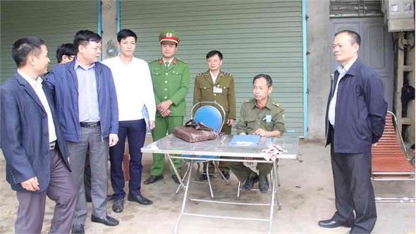 Tập trung phòng, chống dịch bệnh động vật từ cơ sở