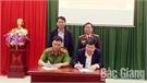 Lạng Giang: Ký kết phối hợp giữa Ban Tuyên giáo Huyện ủy và Công an huyện
