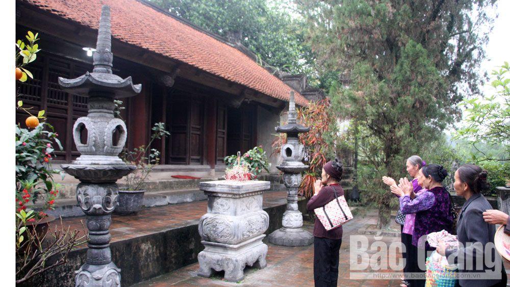Việt yên, chùa Bổ Đà, lễ hội, dân ca quan họ
