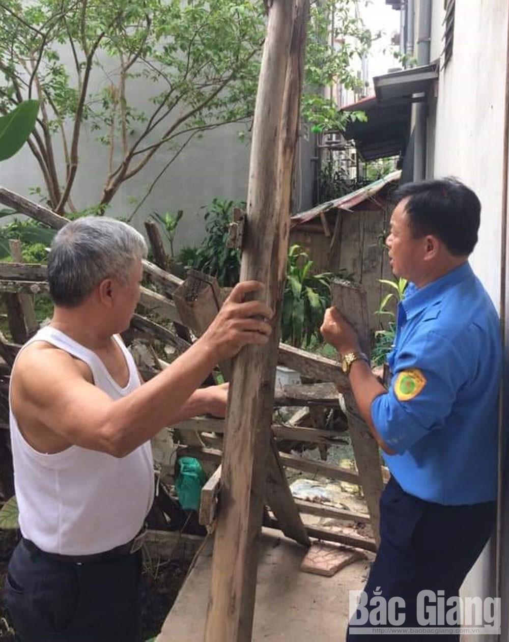 Báo Bắc Giang,  tắc nghẽn, thoát thải , TP Bắc Giang, Phó Chủ tịch Thường trực UBND tỉnh Lại Thanh Sơn