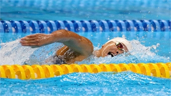 Swimmer Vien invested strongly for SEA Games 30