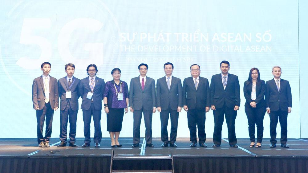 Phó Thủ tướng Vũ Đức Đam, phát triển, mạng di động 5G, có ý nghĩa quan trọng, các nước ASEAN, Hội nghị ASEAN