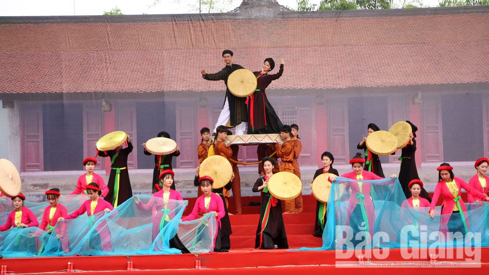 Bac Giang province, Bo Da pagoda festival, 10 year anniversary, Quan ho folk song, UNESCO recognition, World Intangible Cultural Heritage