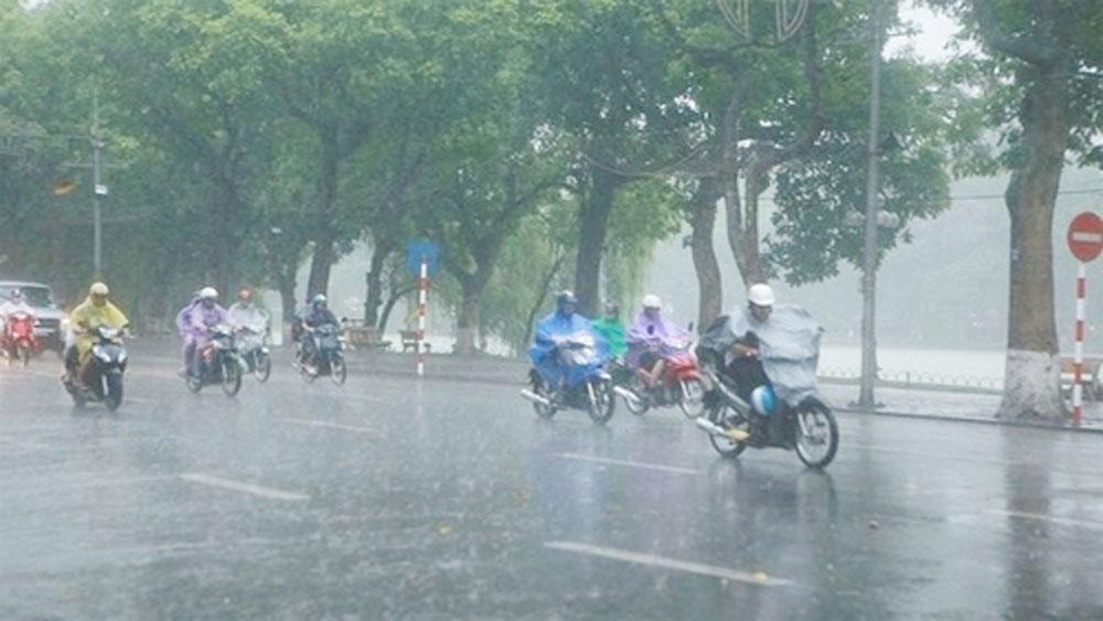 khu vực, trên cả nước, có mưa, thời tiết ngày 23-3