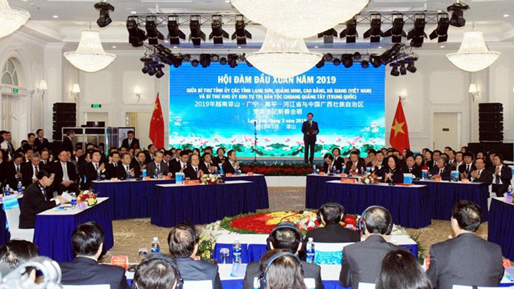 Vietnamese, Chinese border localities, stronger partnership, regular exchange activities, effective collaboration, all-around cooperation