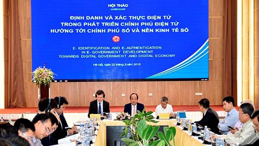 Vietnam, international experience, e-government, institutional framework,  e-identification, e-authentication, e-government development