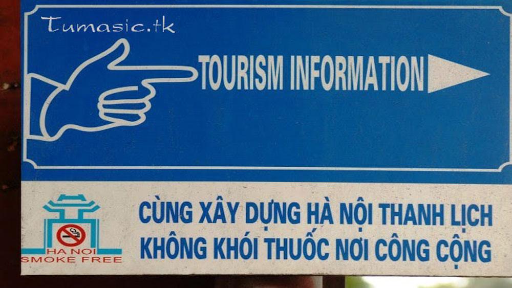Hanoi, smoke-free environment, Tourism managers, no-smoking signs, sustainable tourism development,  tourist destinations
