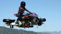 Siêu mô tô đầu tiên vừa có thể chạy, vừa có thể bay, giá 13 tỷ đồng