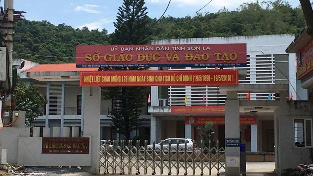 Xử lý vi phạm, Kỳ thi THPT quốc gia năm 2018, tỉnh Sơn La