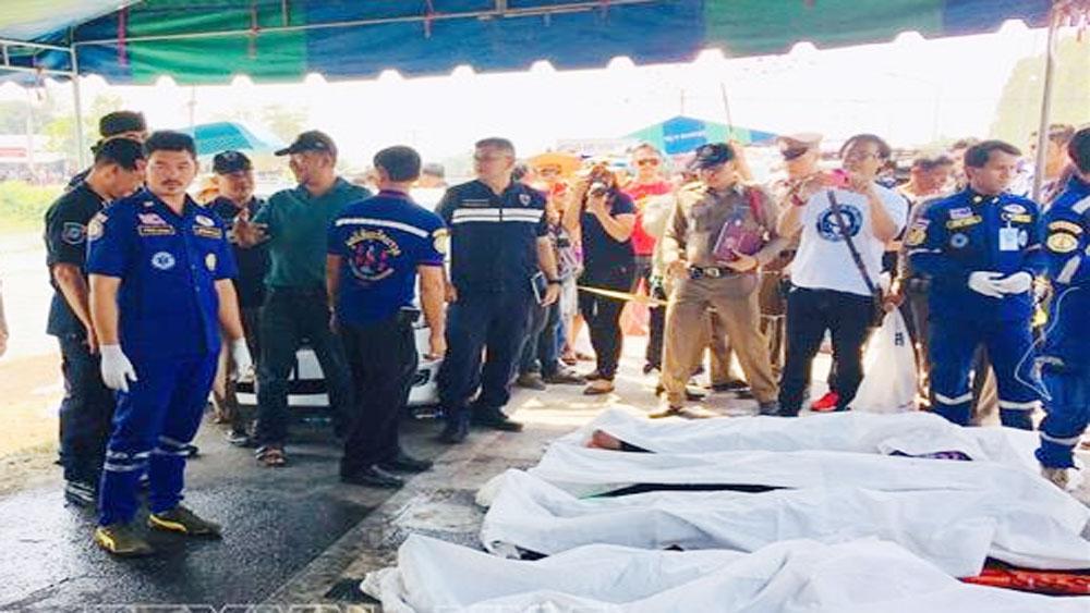 Tai nạn ở Thái Lan, công ty sử dụng lao động, thông báo, hỗ trợ gia đình, các nạn nhân người Việt tử vong